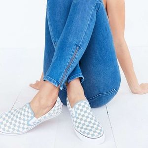 NIB Vans Checkerboard Classic Slip-On Sneakers
